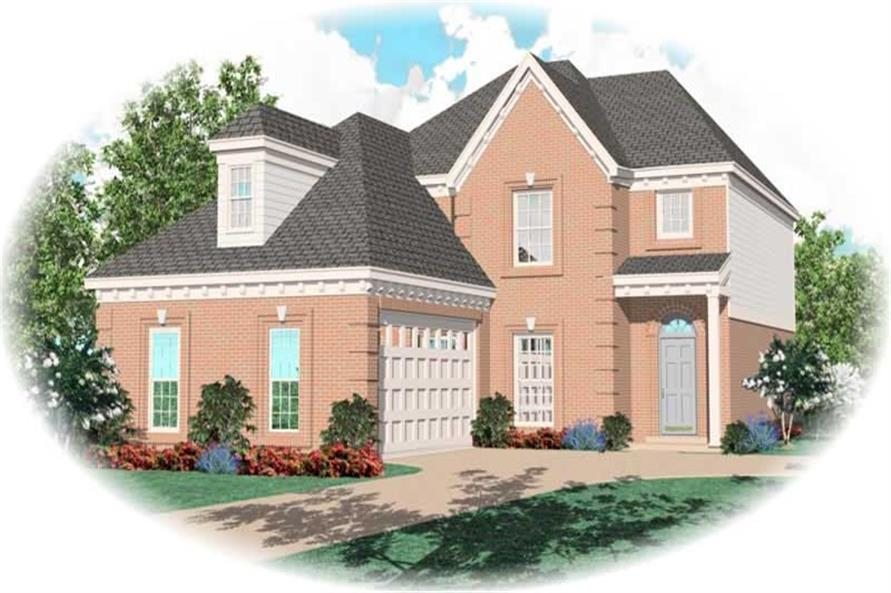 Main image for house plan # 10292