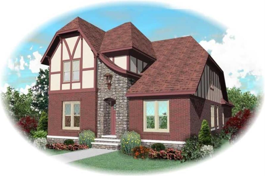 Main image for house plan # 10256