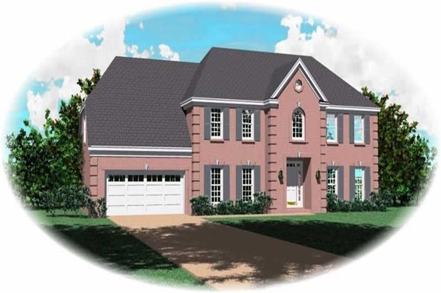 Main image for house plan # 10252