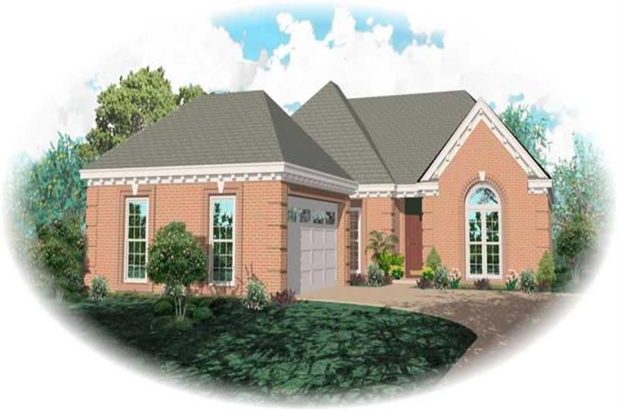 Main image for house plan # 10243