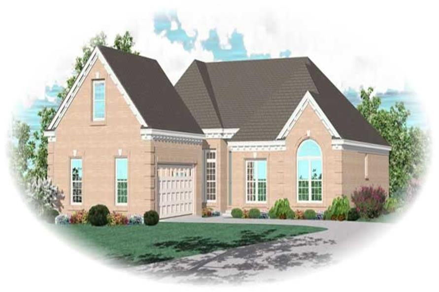 Main image for house plan # 10241