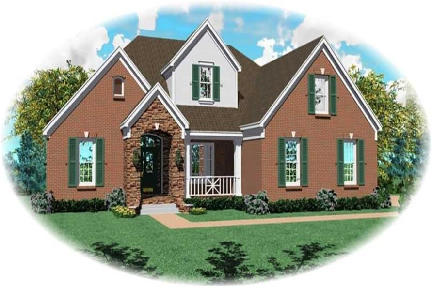 Main image for house plan # 10170
