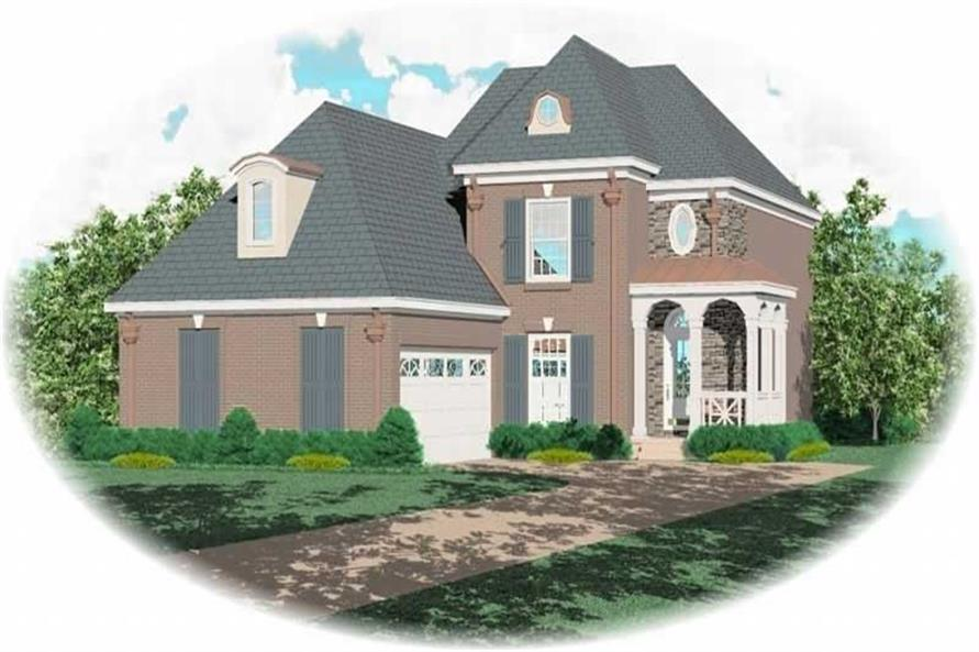 Main image for house plan # 10393