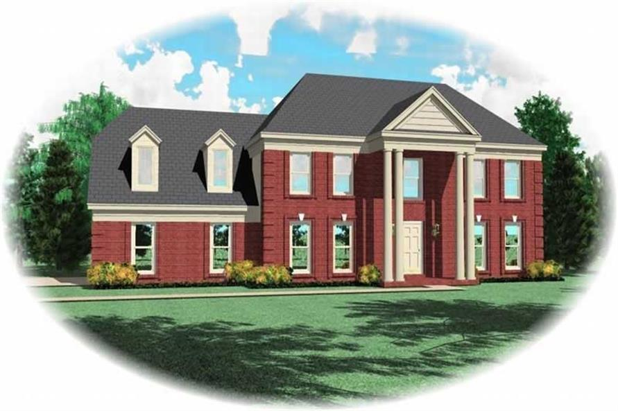 Main image for house plan # 10319