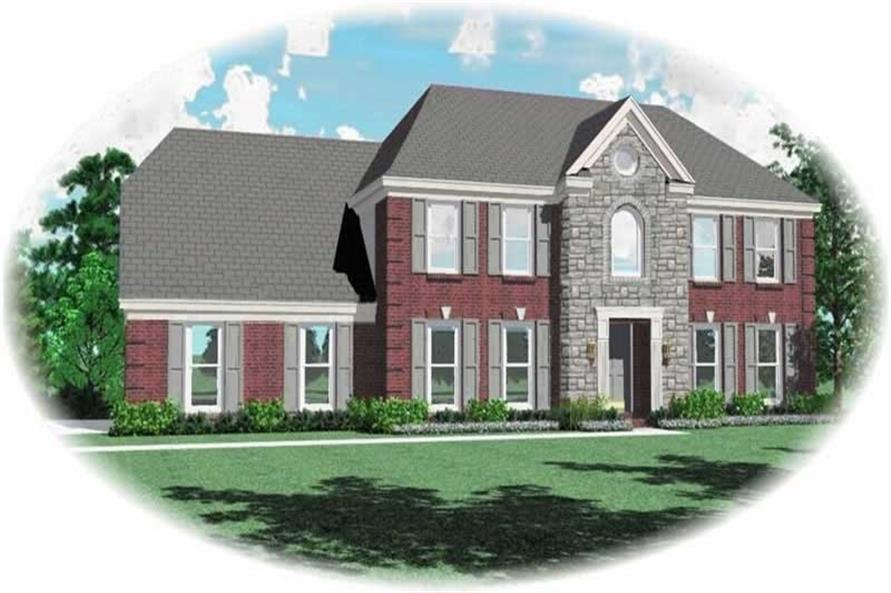 Main image for house plan # 10313