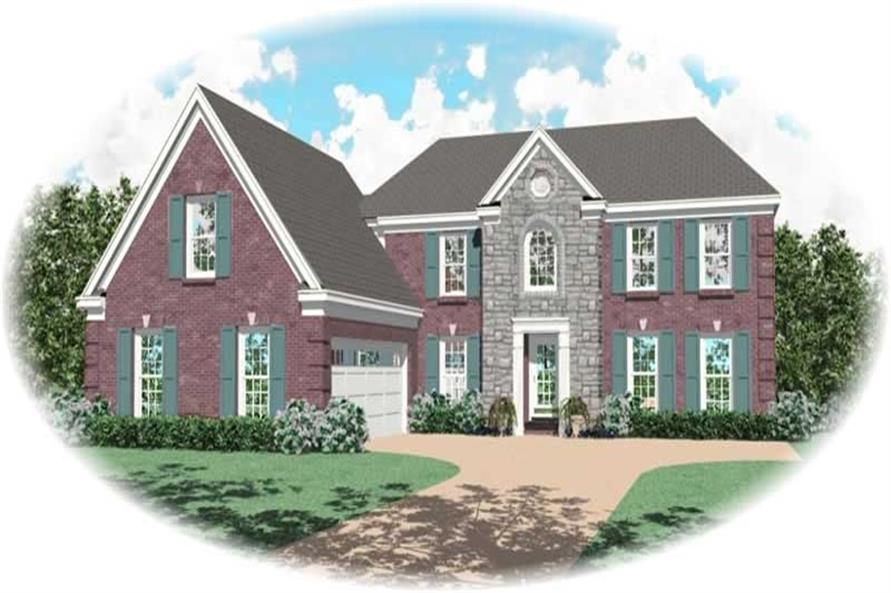 Main image for house plan # 10308