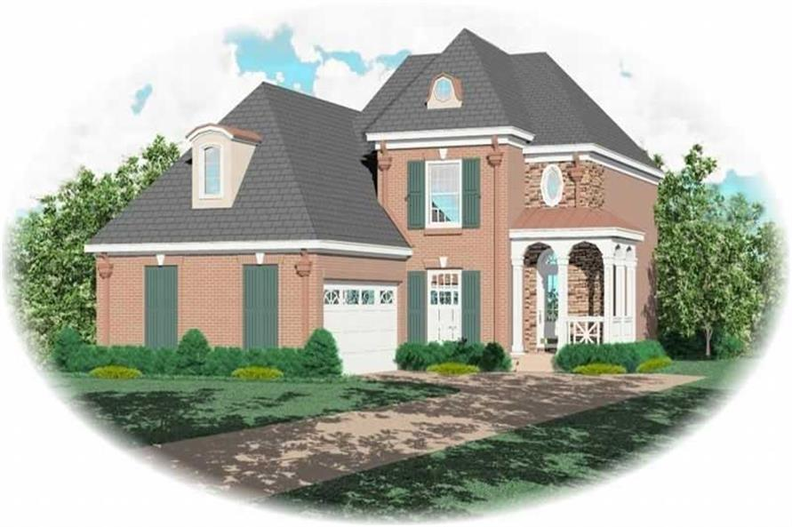 Main image for house plan # 10290