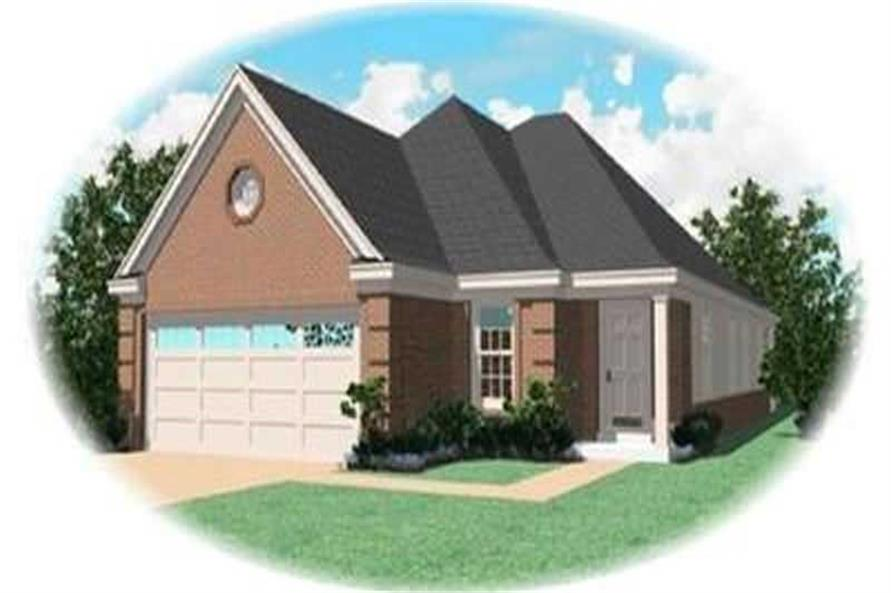 Main image for house plan # 8288