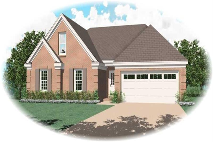 Main image for house plan # 10370