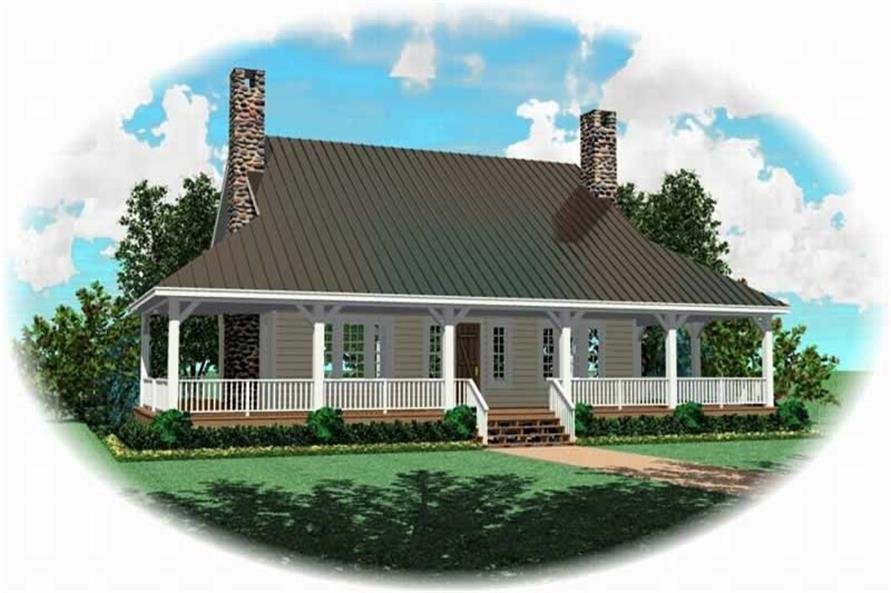 Main image for house plan # 10327