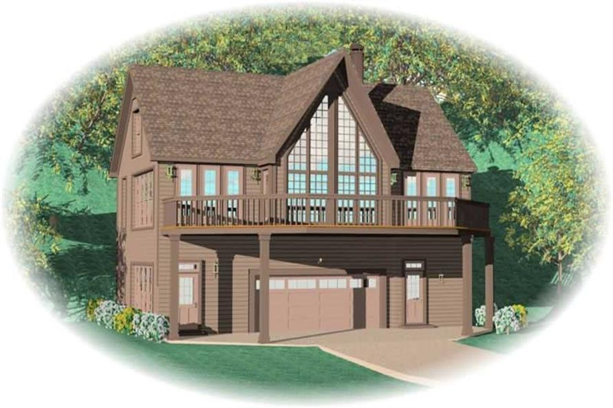 Main image for house plan # 10382