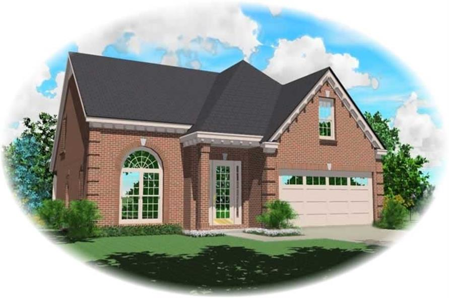 Main image for house plan # 10368