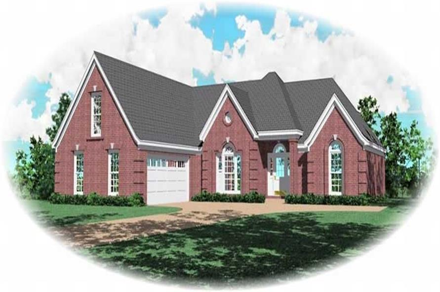 Main image for house plan # 10422