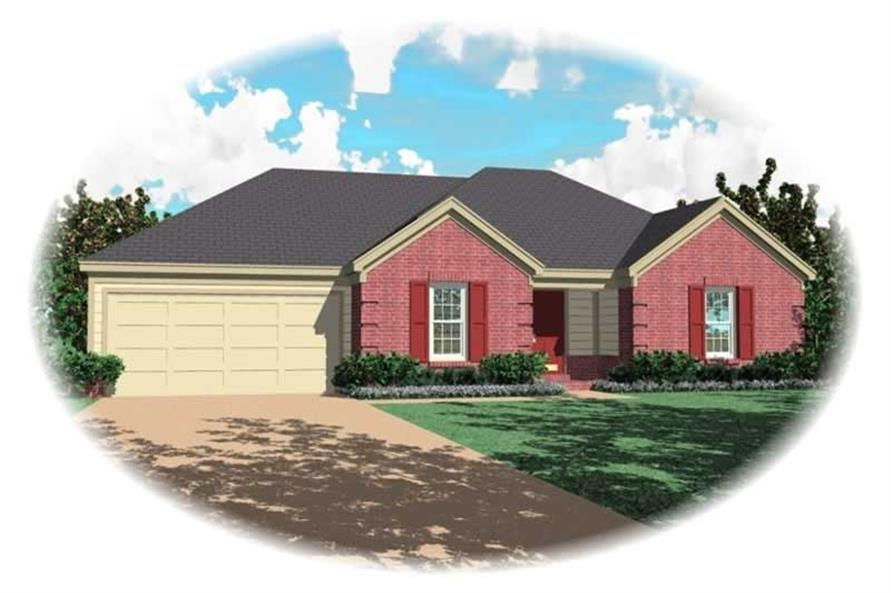 Main image for house plan # 10439