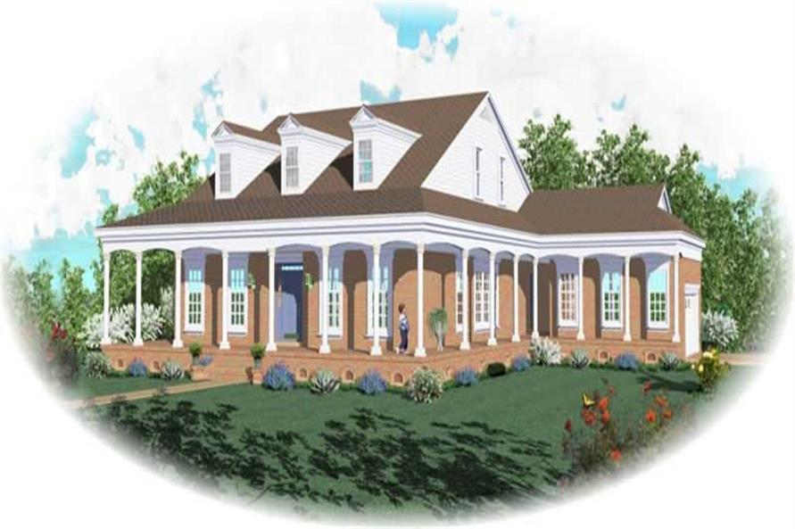 Main image for house plan # 10465