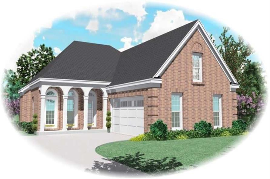 Main image for house plan # 10455