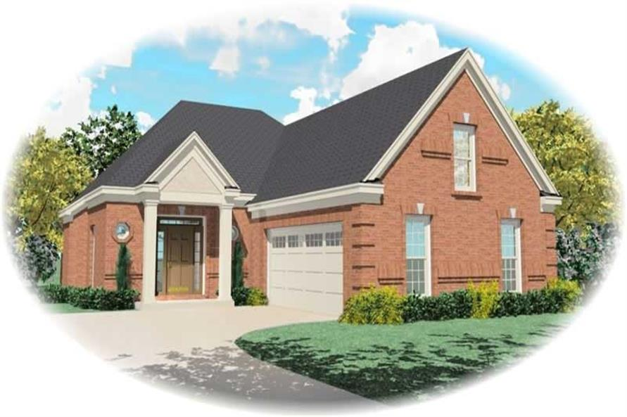 Main image for house plan # 10454