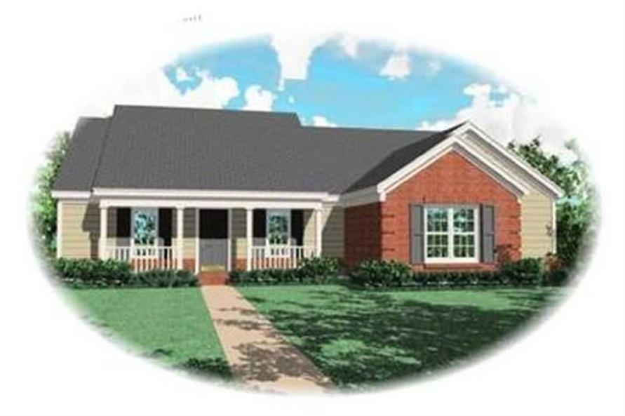 Main image for house plan # 8323