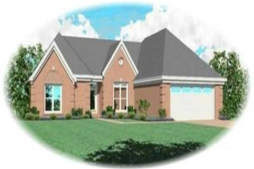 Main image for house plan # 8327