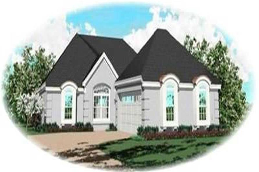 Main image for house plan # 8373