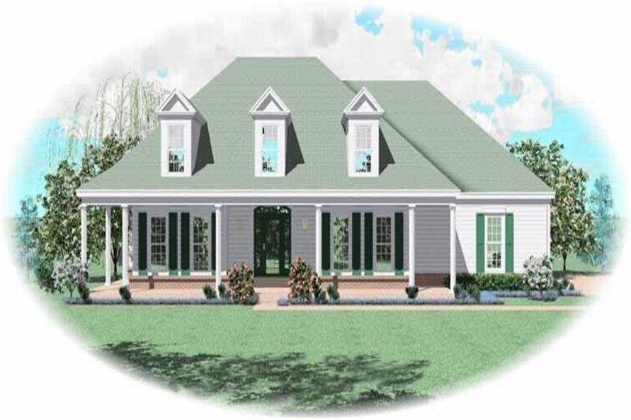 Main image for house plan # 10453