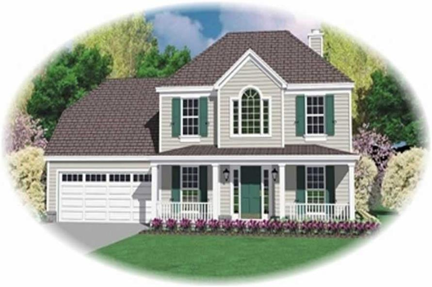 Main image for house plan # 10129