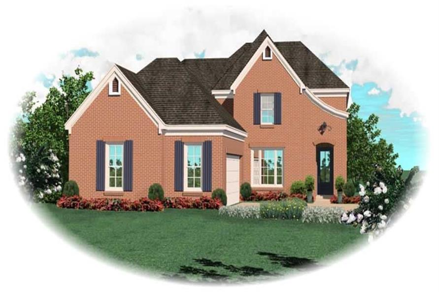 Main image for house plan # 10106