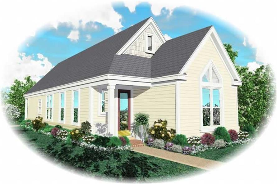 Main image for house plan # 10158