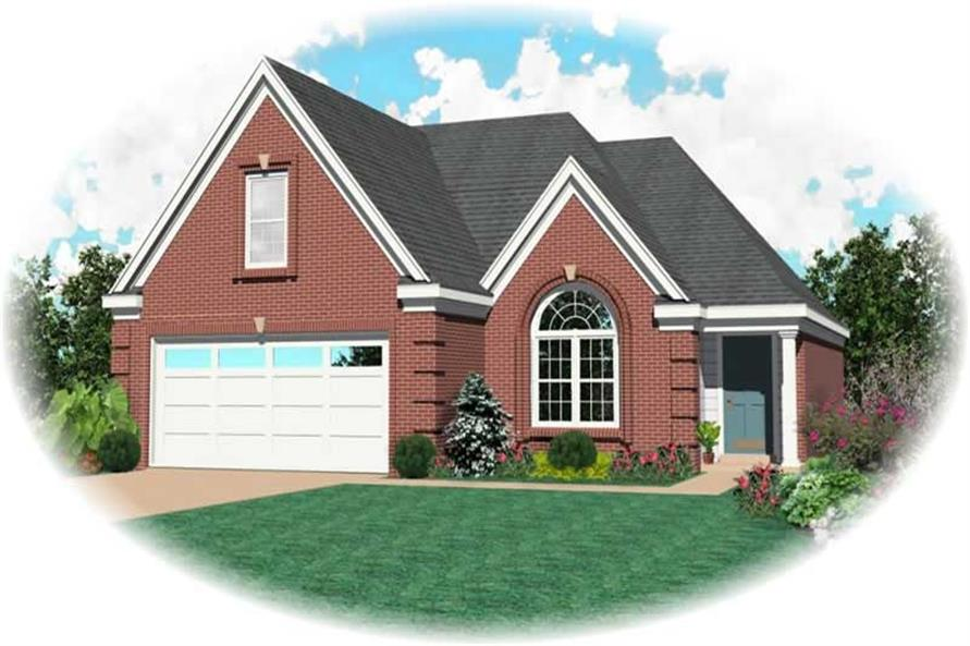 Main image for house plan # 10142