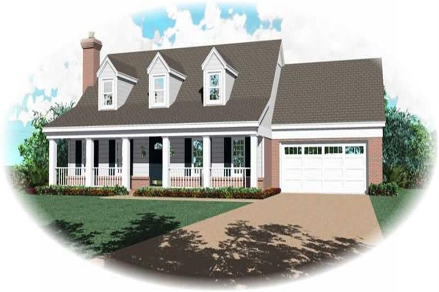 Main image for house plan # 10130