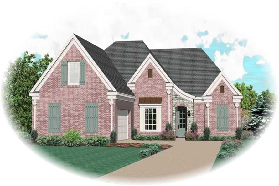 Main image for house plan # 10166