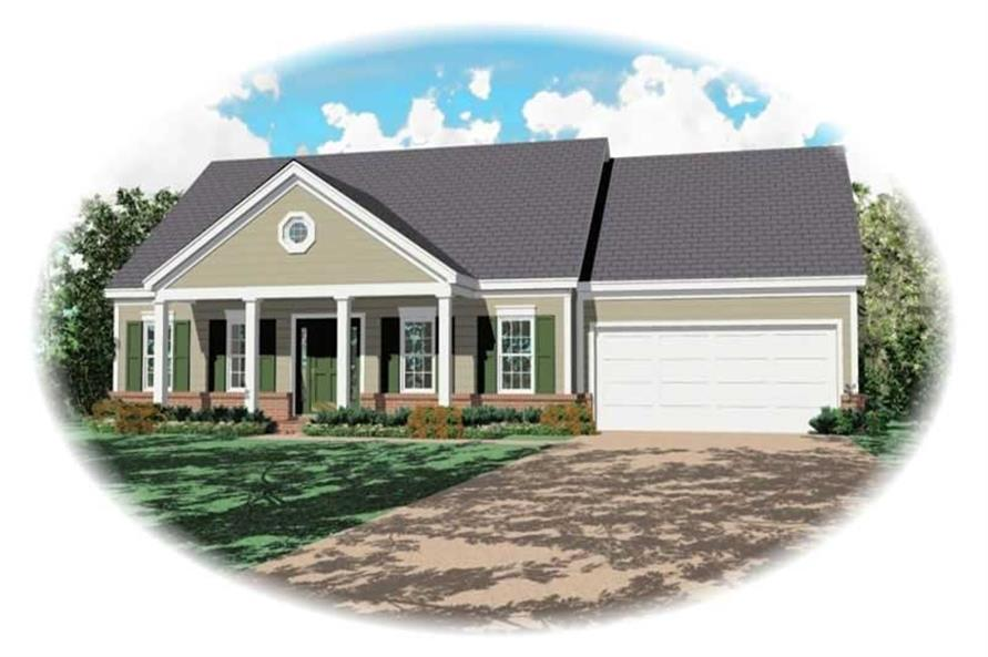 Main image for house plan # 10112