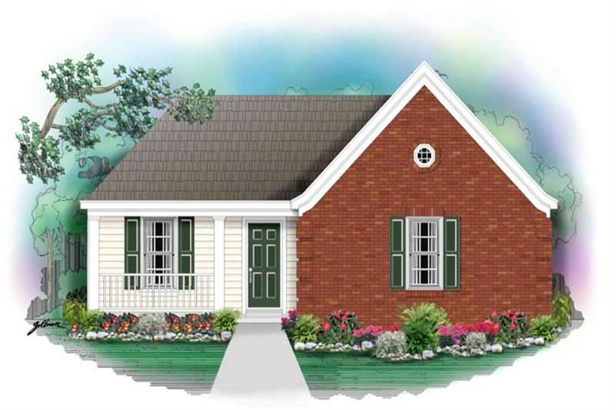 Main image for house plan # 10110