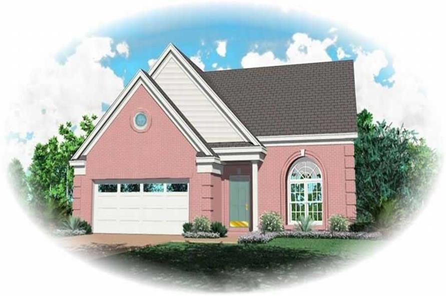 Main image for house plan # 10059