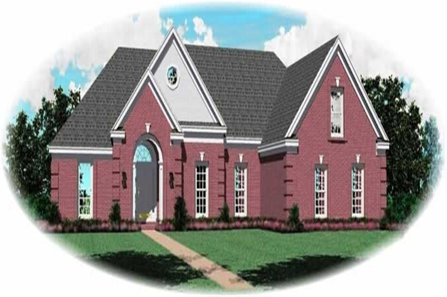 Main image for house plan # 10201