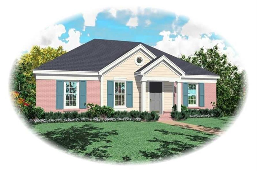 Main image for house plan # 10061