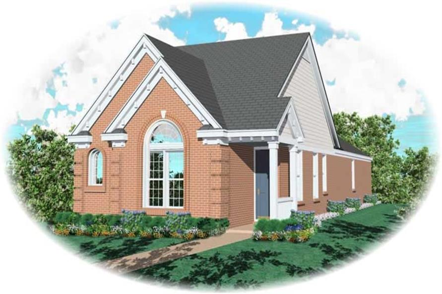 Main image for house plan # 10224