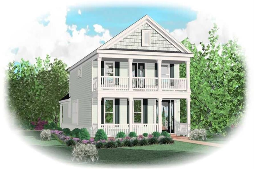 Main image for house plan # 10080