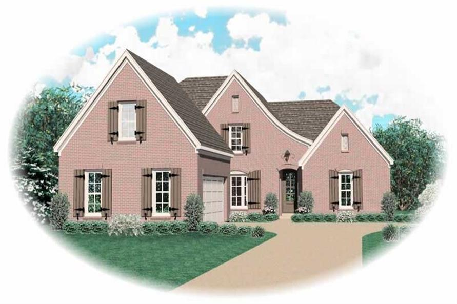 Main image for house plan # 10097