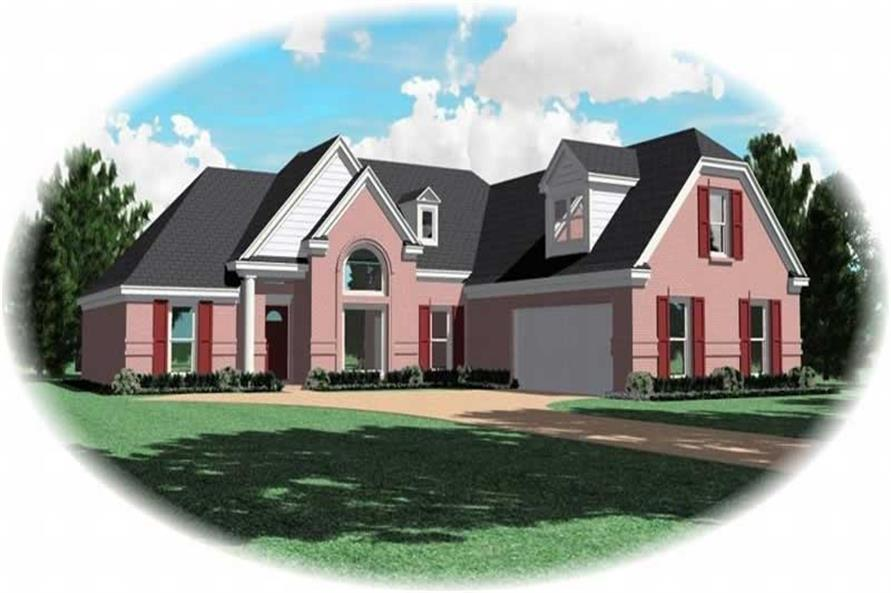 Main image for house plan # 10095