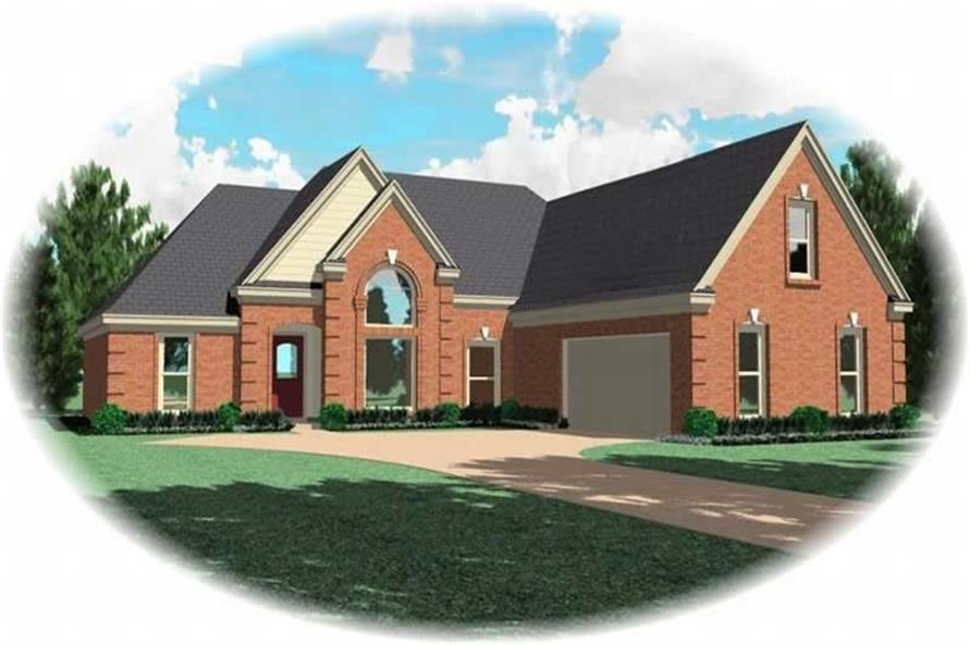 Main image for house plan # 10089