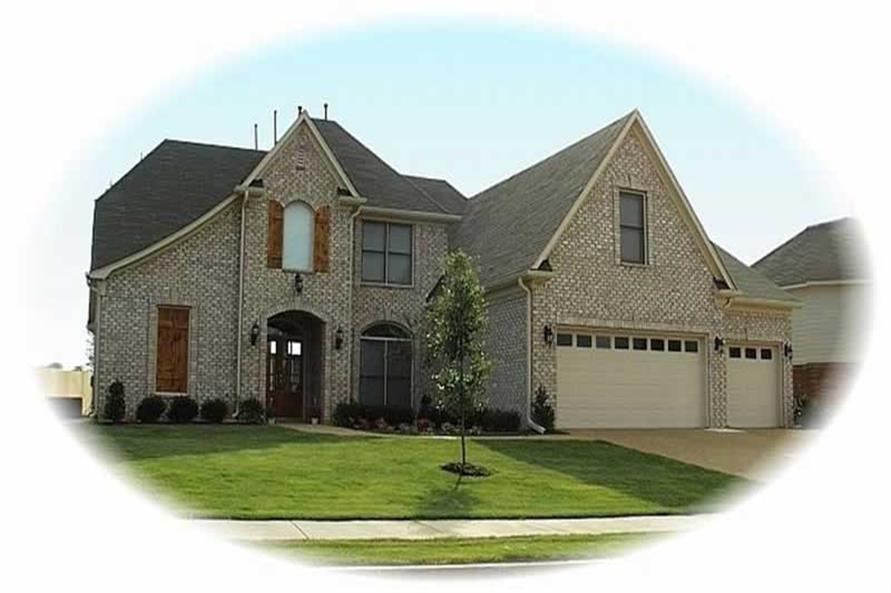 Main image for house plan # 10085