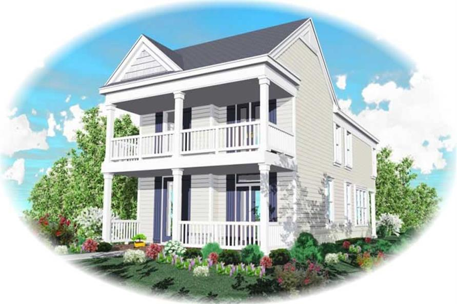Main image for house plan # 10050