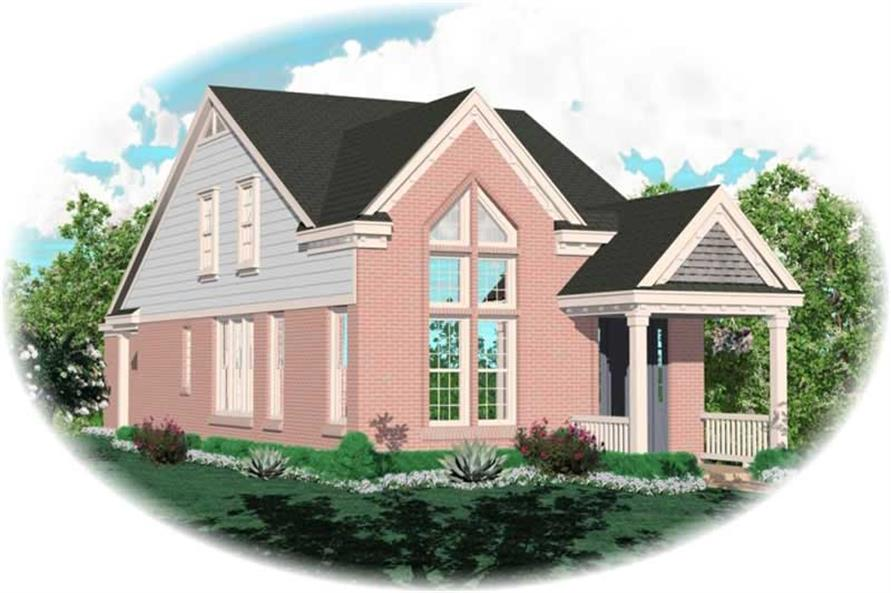 Main image for house plan # 10078