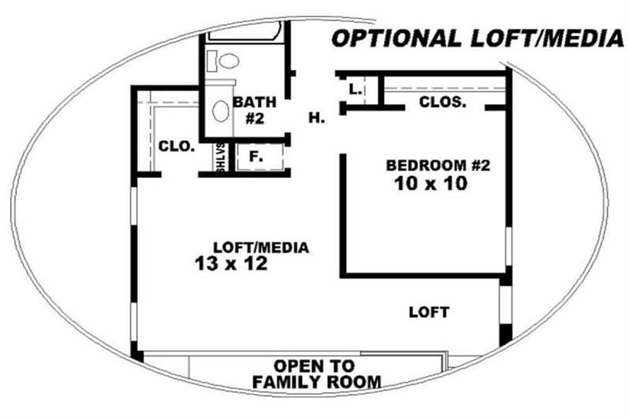 OPTIONAL LOFT PLAN
