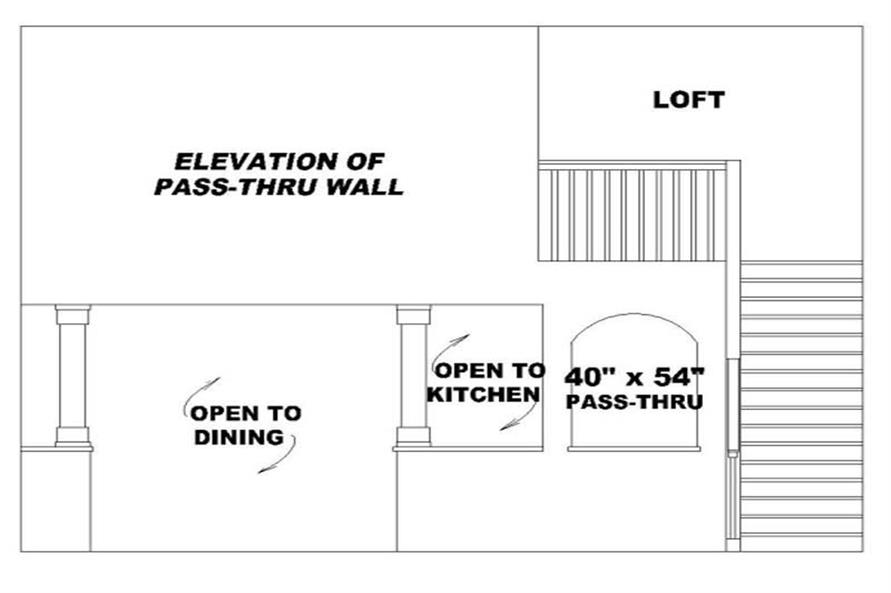 PASS-THRU WALL