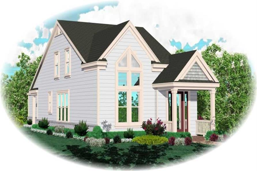 Main image for house plan # 10074