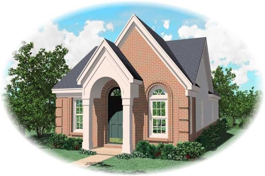 Main image for house plan # 10063