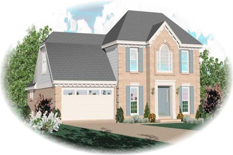 Main image for house plan # 10228
