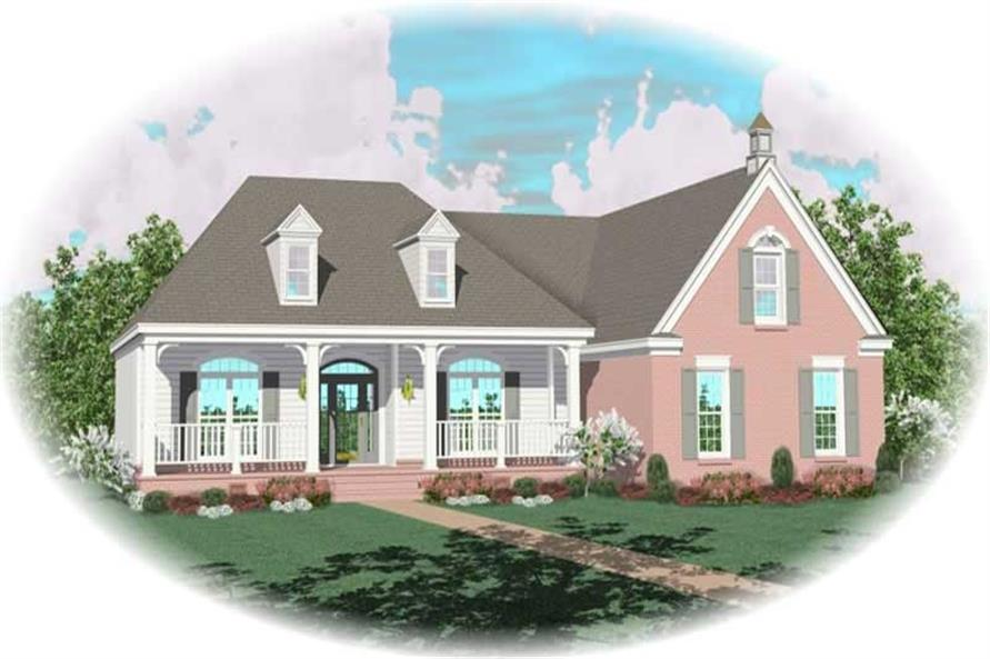 Main image for house plan # 10196